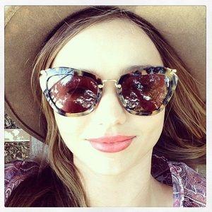 Miu miu Havana sunglasses